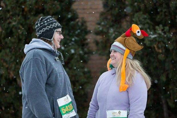 The 6th Annual Festival Foods Turkey Trot brought hundreds of runners and walker to downtown Oshkosh early Thanksgiving morning. The event benefits the Oshkosh Boys and Girls Club and YMCA. #eventcity
