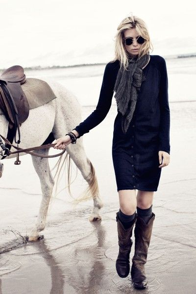 !: Boots Scarf Dress Love, Fashion, Style, Outfit, Dress Boots, Boots Socks, Beach, Rabens Salons