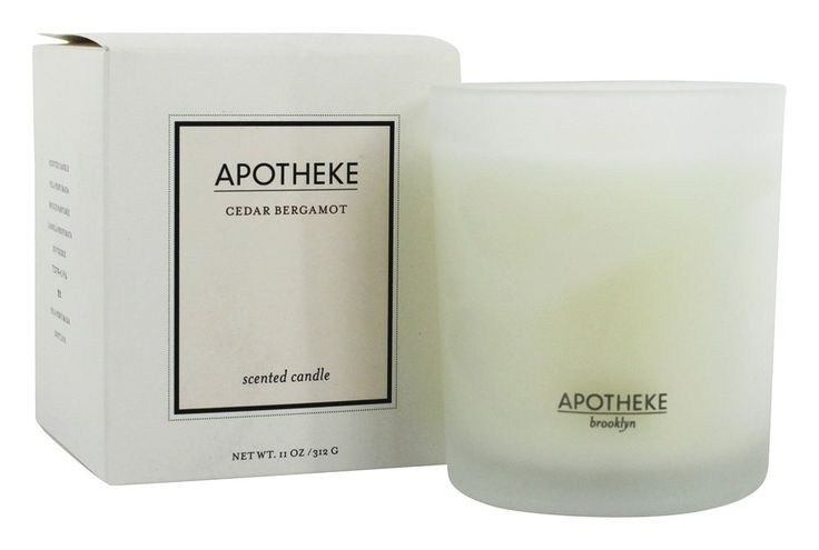 Save on Scented Candle Cedar Bergamot by Apotheke and other Scented & Unscented Candles, For the Home, Luxury Beauty, Luxury Aromatherapy, Apotheke          and 100% Natural remedies         at Lucky Vitamin. Shop online for Personal Care & Beauty, Aromatherapy, Gift Ideas, Apotheke items, health and wellness products at discount prices.