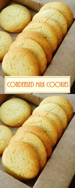 Condensed Milk Cookies Condensed Milk Cookies Condensed Milk Recipes Desserts Milk Recipes Dessert