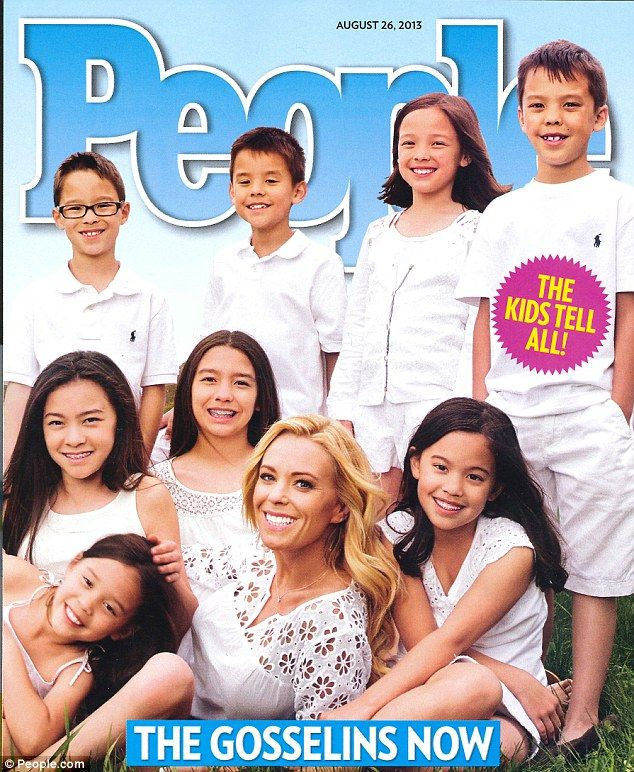 Kate gosselin kids 2013 | kate tells all after kate plus 8 aired its final episode two years ago ...