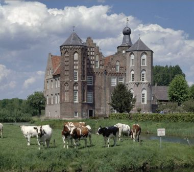 Europe | Croy Castle, Aarle-Rixtel, Laarbeek, Noord Brabant, The Netherlands. From 1642 until 1968 Croy belonged to the municipality Stiphout (currently part of the municipality of Helmond). The castle is currently no longer inhabited but in use as an office. Since 1795 beer is brewed near the castle. Since 2004 the Croy beer is itself had been brewed in Belgium but the ingredients are grown on the Croy estate.