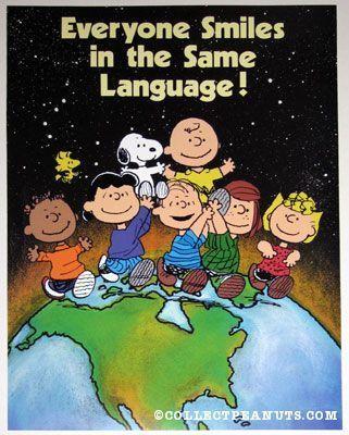 Peanuts Gang - Everyone Smiles in the Same Language!