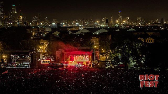 Good night #RiotFest #Chicago #WeAre138