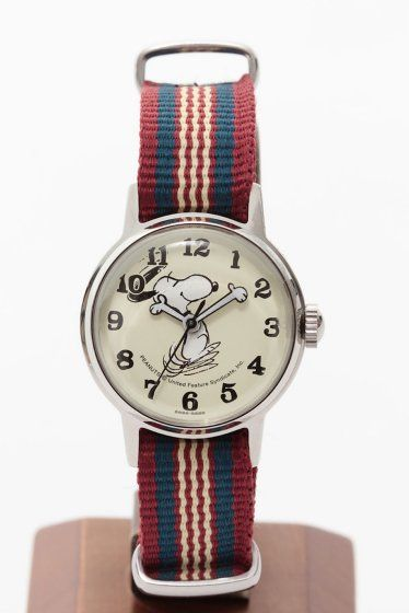 SNOOPY WATCH S SIDE FACE