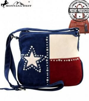 Texas Pride Collection Crossbody Bag - Keffeler Kreations | HilltopBoutique.com - 1