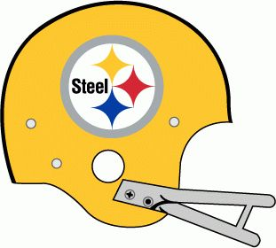 Pittsburgh Steelers helmet logo 1962.