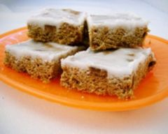 Weet-Bix Slice Recipe  Kids really enjoyed it.  I added nuts and apricot and used ovaltin instead of cocoa.