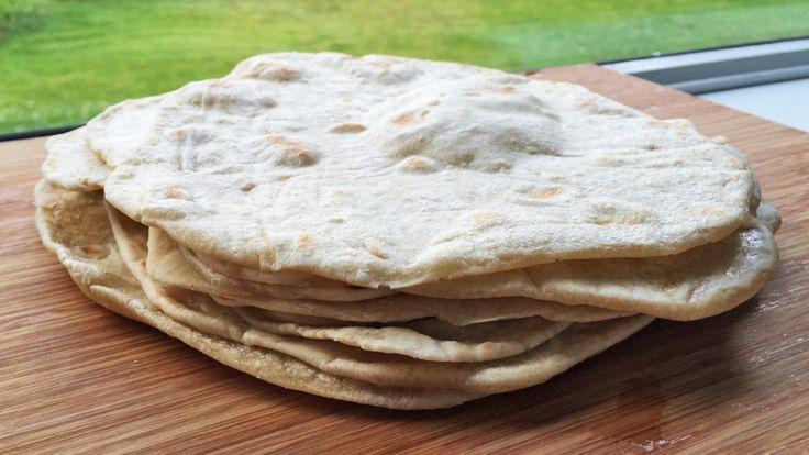 Tortilla av hvetemel