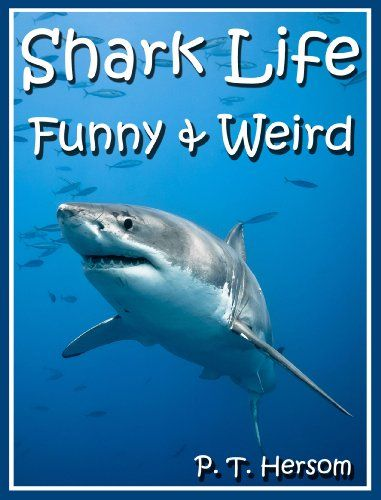 Shark Life Funny & Weird Sea Creatures - Learn with Amazing Photos and Fun Facts About Sharks and Sea Creatures (Funny & Weird Animals Series Book 6) by P. T. Hersom http://www.amazon.com/dp/B00GD1ZP3W/ref=cm_sw_r_pi_dp_jONvwb1KH3VVC - Explore parts of the ocean to find sharks that have tools like the Hammerhead Shark, or the giant Whale Shark that can swallow a man, or the bossy Bull Shark. See mystical sea monsters such as the Great White Shark, Tiger Shark or the Goblin Shark!