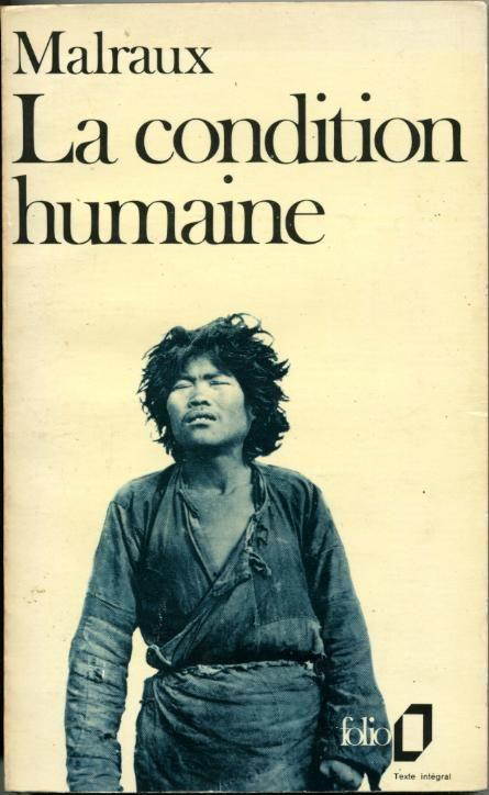 """Le 7 décembre 1933, André Malraux reçoit le Prix Goncourt pour """"La condition humaine"""". Au cœur de la Chine de Tchang Kaï-Chek, Malraux fait coexister l'absurde et la certitude de pouvoir choisir son destin. http://manufacturedeslettres.tumblr.com/post/69161886518/le-7-decembre-1933-andre-malraux-recoit-le-prix"""