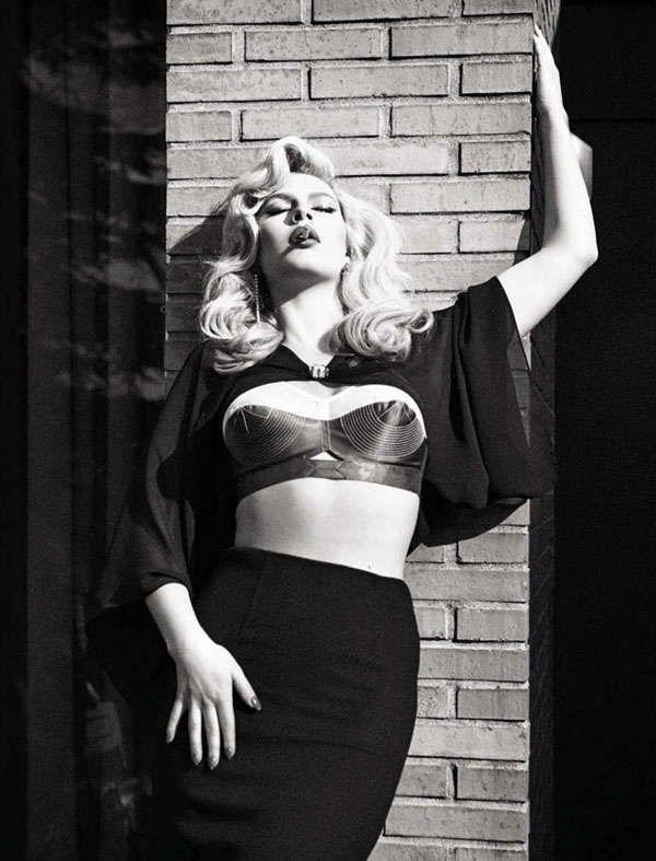 The Vogue Italia Beauty June 2013 #Photoshoot Stars Chloe Hayward trendhunter.com