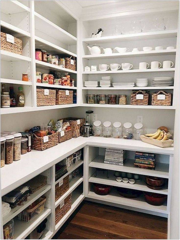 40 inexpensive kitchen pantry organization ideas for tiny house or your home on kitchen decor organization id=91290
