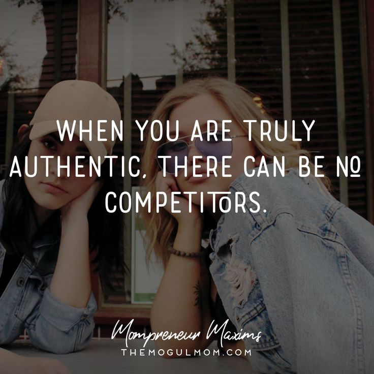 Inspiring quotes on life and business for Mompreneurs | The Mogul Mom | WAHM quote | Marketing quote | Business quote | motherhood | quotes for moms | authenticity | competition | copycats