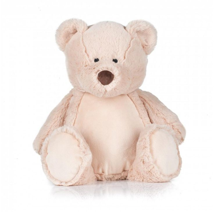 Personalised Embroidered Mumbles Zippie Teddy Bear free uk delivery #cuddly #teddybear #personalisedteddybear #embroidered #personalised  #teddy #bear #customised #personalisedgift #newborn #gift #teddy
