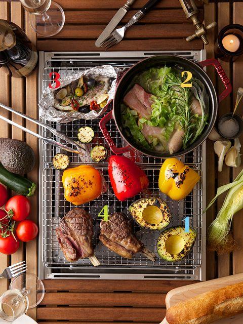 カノジョも喜ぶフレンチ・ビストロ流BBQ──出張料理人・マカロン由香さん直伝!|GQ JAPAN
