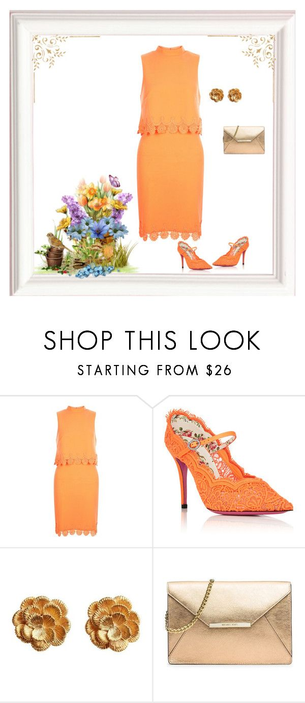 """""""Untitled #1691"""" by milliemarie ❤ liked on Polyvore featuring New Look, Gucci, Kutchinsky and MICHAEL Michael Kors"""