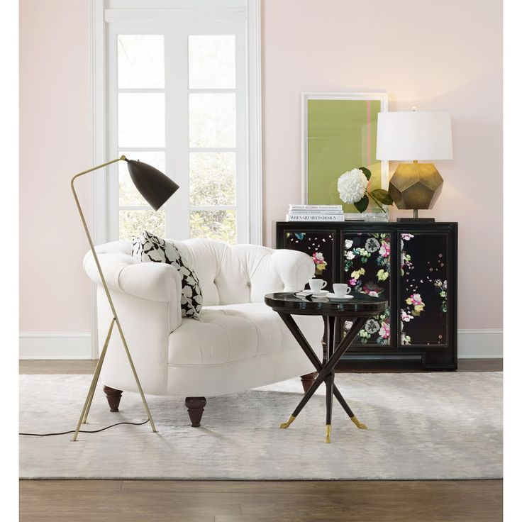 Cynthia Rowley For Hooker Furniture Living Room Ludlow Settee