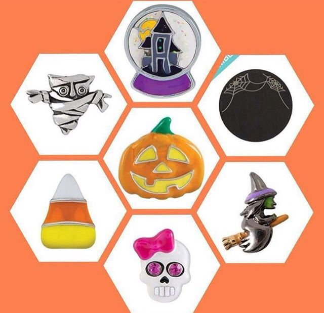 2015 Halloween Collection Origami Owl  www.marypieperlockets.origamiowl.com Facebook.com/wearingmystory