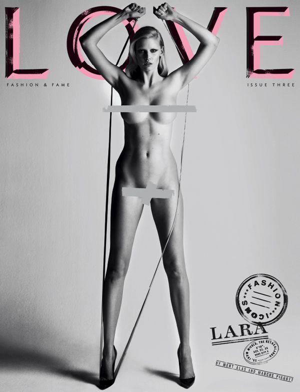 Love magazine bracht dit nummer een hele serie van deze uit met allemaal topmodellen. Ik vind het hele krachtige en vrouwelijke beelden, beetje provoceren hou ik wel van. bron: love magazine
