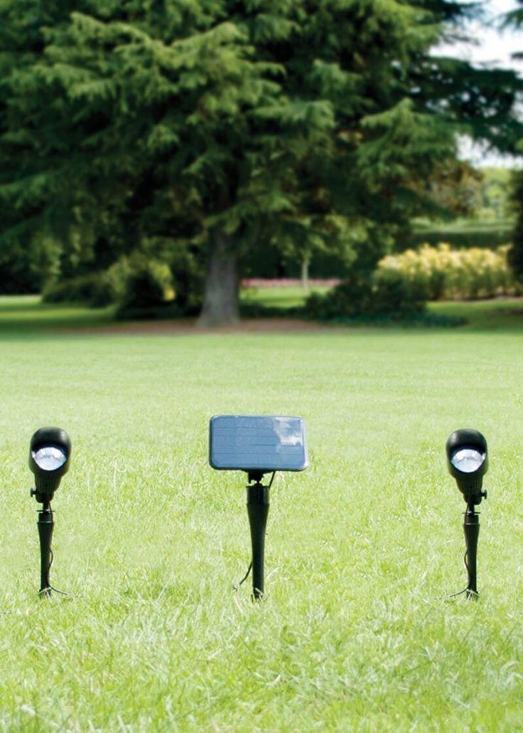 Záhradný solárny reflektor Solarcentre Selene - sada dvoch reflektorov | SolarBunny.eu