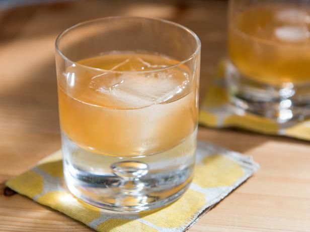Cocktail. Get Peanut Butter Old Fashioned Recipe from Food Network