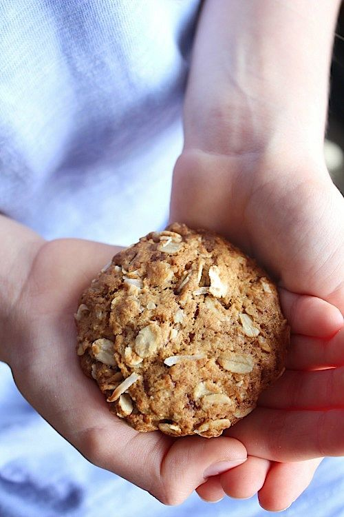 Healthy, Wholewheat Anzac Biscuits | Better with Cake Easily made - Gluten free & Vegan www.betterwithcake.com