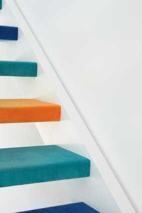 painted step treads - Google Search