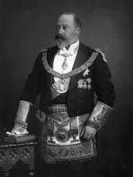 Edward vii - King of Great Britain. Grand Master of the UGLE 1875-1901. Also Provincial Grand Master for Lower Canada.