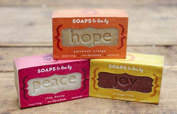 Love & Lather with @Soaps To Live By - Organic Soaps | Gift Idea | Organic Spa Magazine: Gifts Ideas, Ivy Ideas, Gift Ideas, Frugal Gifts