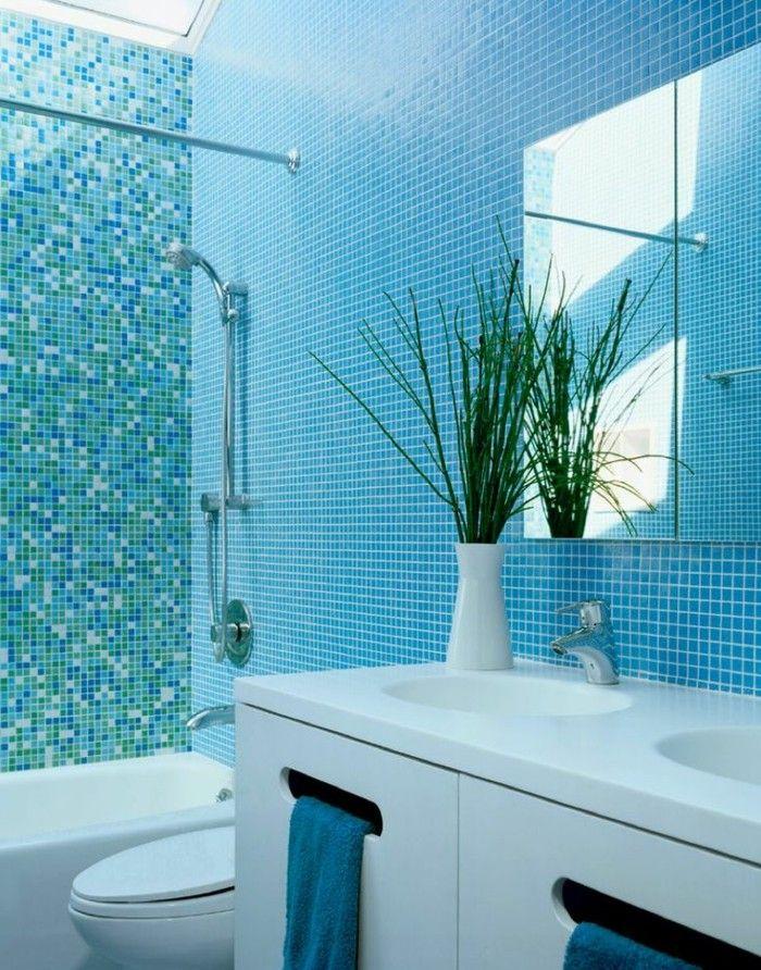 1000 id es sur le th me d coration de salle de bain turquoise sur pinterest - Carrelage bleu turquoise salle de bain ...