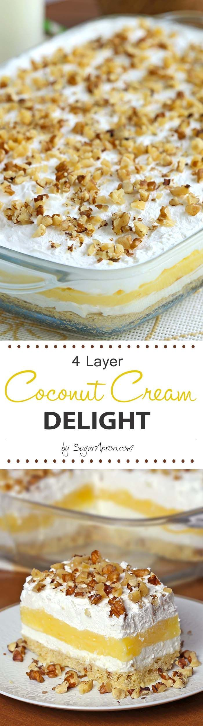 Coconut Cream Delight