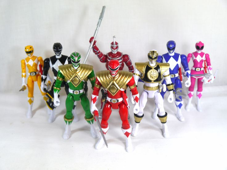Review: Legacy Mighty Morphin Power Rangers Figures | ShukuenShinobi.com