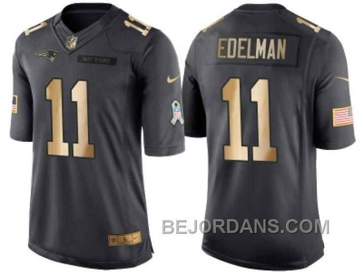 http://www.bejordans.com/free-shipping-60-off-nike-new-england-patriots-11-julian-edelman-anthracite-2016-christmas-gold-mens-nfl-limited-salute-to-service-jersey.html FREE SHIPPING ! 60% OFF! NIKE NEW ENGLAND PATRIOTS #11 JULIAN EDELMAN ANTHRACITE 2016 CHRISTMAS GOLD MEN'S NFL LIMITED SALUTE TO SERVICE JERSEY Only $20.00 , Free Shipping!
