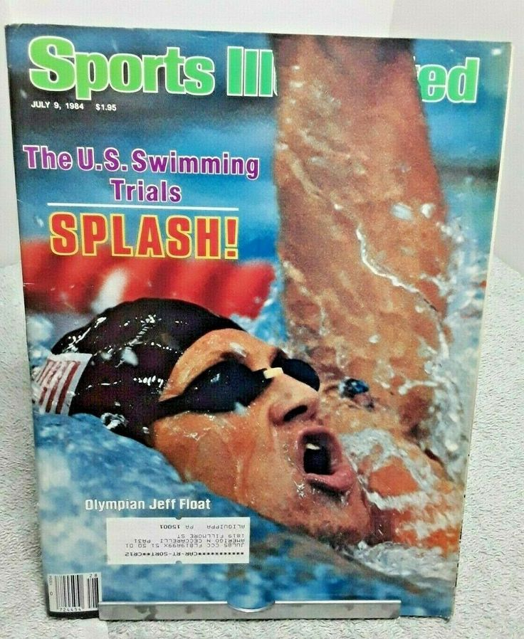 Sports Illustrated July 1984 Jeff Float US Olympic