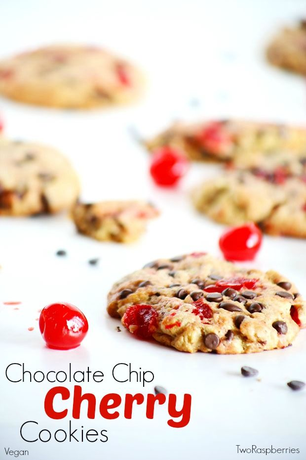 Chocolate Chip Cherry Cookies | Recipe | Cherries, Chocolate chips ...