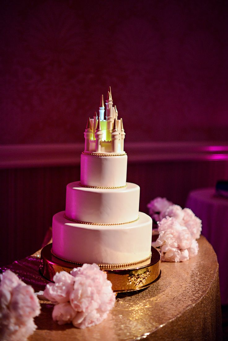 The Disney Wedding Cakes Gallery On Disneys Fairy Tale Weddings Is A Collection Of Images Featuring Cake Ideas Designs And Toppers