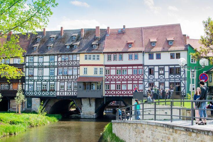 le pont des épicier à Erfurt