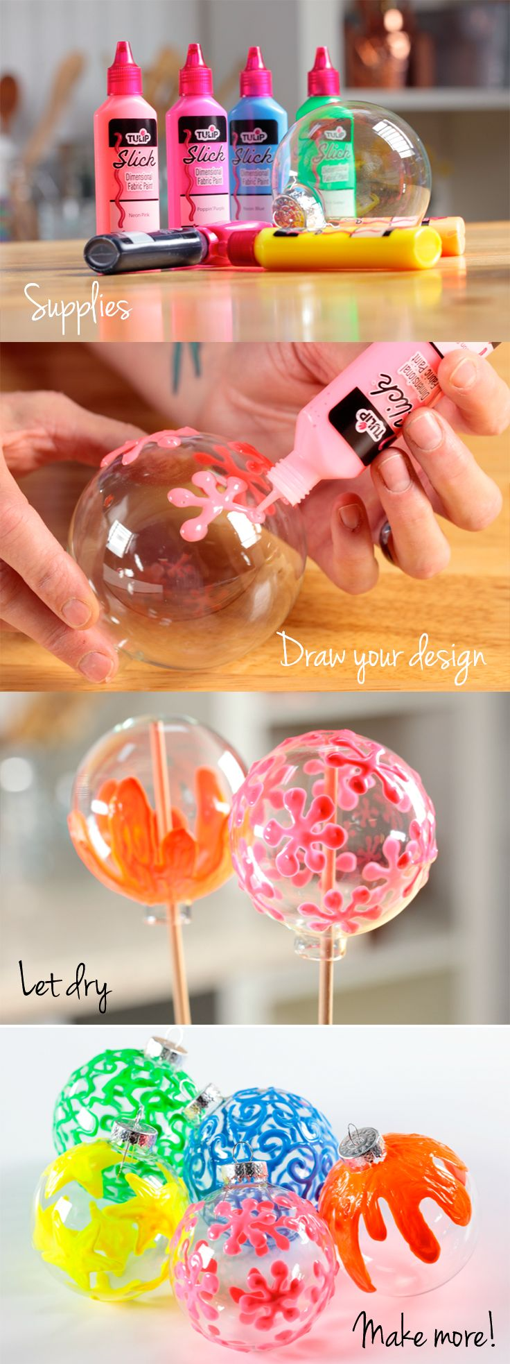 how to make slime out of puffy paint