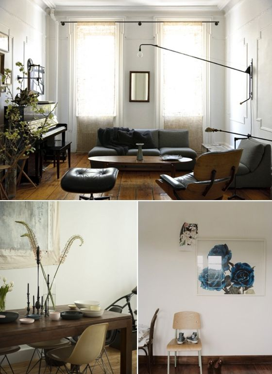 Wall Lamps are awesome!: Dreamy Spaces, Living Rooms, Wall Lamps, Eames Chairs, Lights Fixtures, Living Spaces, Long Curtains, Pink Rooms, Cozy Home