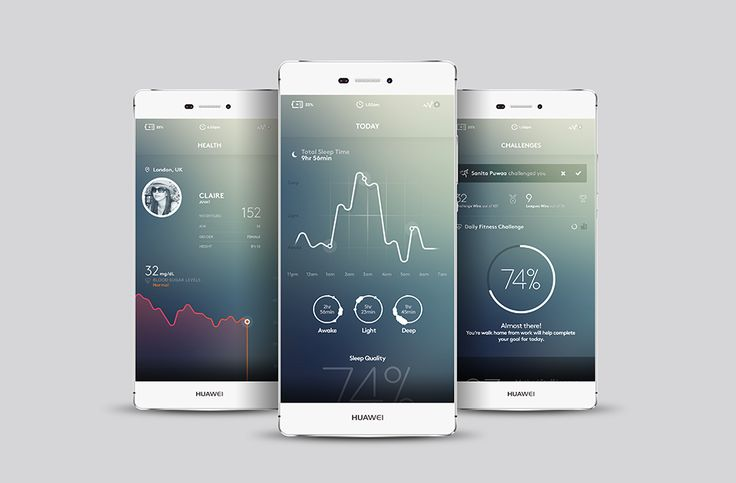 Huawei Health / EMUI on Behance