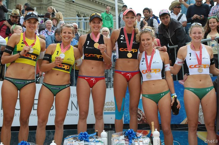 Schweizermeisterinnen 2015:  1. Platz Forrer/Vergé-Dépré 2. Platz Goricanec-Hüberli 3. Platz Betschart-Eiholzer
