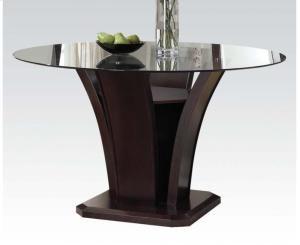 70500KIT in by Acme Furniture Inc in Birmingham, AL - Malik Esp. Round Dining Table