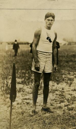 1904 Olympics: Unidentified New York Athletic Club Team member (possibly Samuel Symington Jones).: Samuel, Member, Club Team, 1904 St. Louise, Olympics Games, Nyac History, Olympiade 1904, Athletic Club, 1904 Olympics
