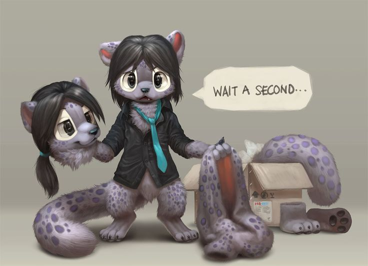 Furry manga kittens - 3 2
