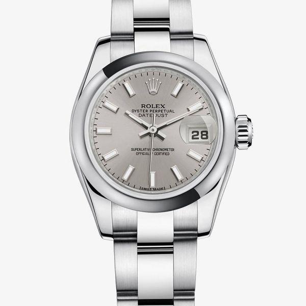 La Cote des Montres : Prix du neuf et tarif de la montre Rolex - Collection Femmes - Lady-Datejust - Appliques-or - 179160-0023