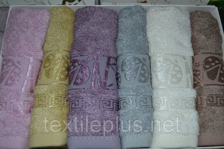 Набор кухонных полотенец Cestepe bamboo 6 шт. 30x50см. Турция, фото 2