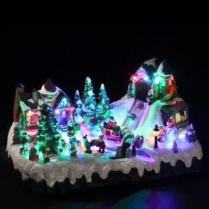 Féeric christmas - Village de noël lumineux et musical '' Station de ski