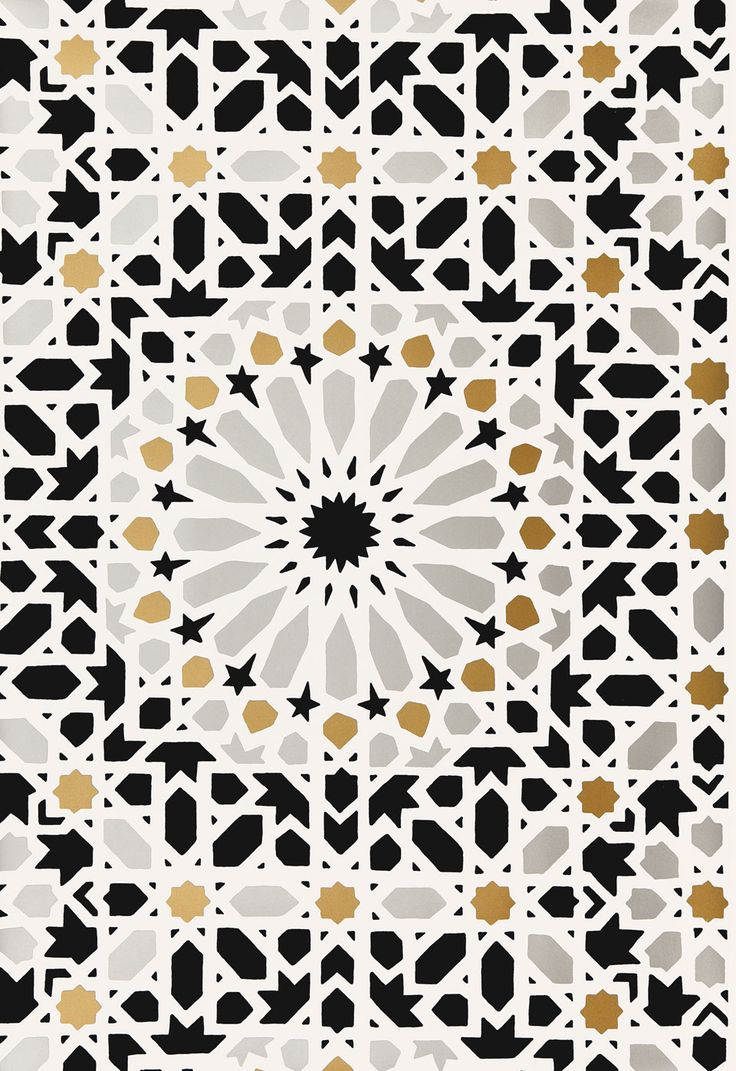 Nasrid Palace Mosaic in Mica, 5005961. http://www.fschumacher.com/search/ProductDetail.aspx?sku=5005961 #Schumacher