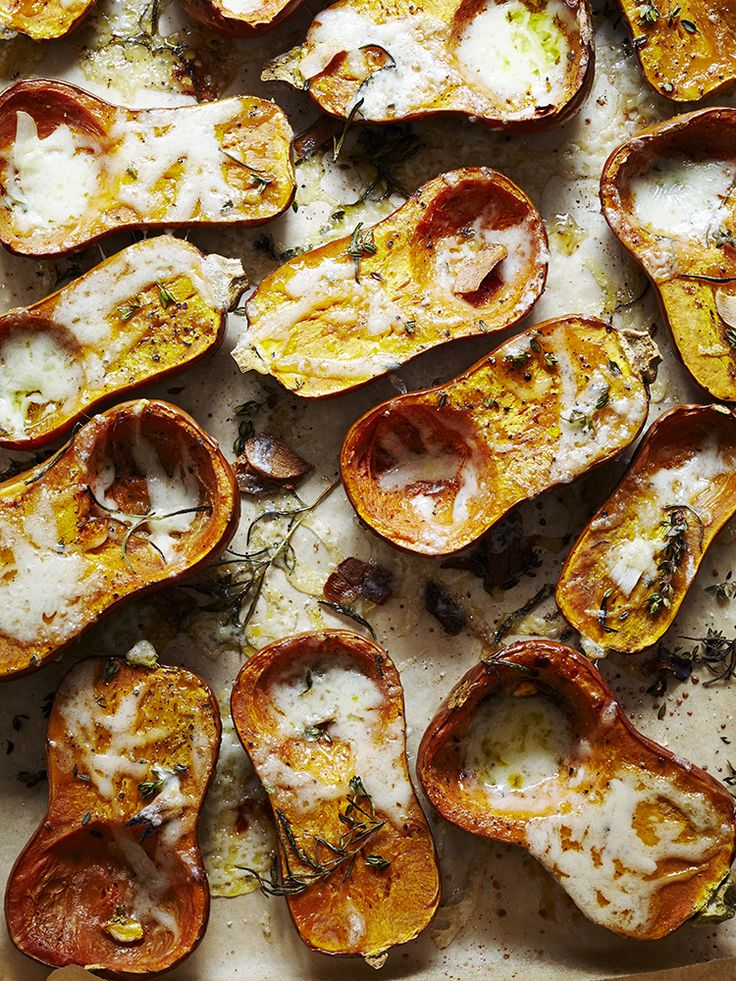 roast honey nut squash with rosemary and gruyere roasted squash ...